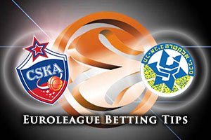 CSKA Moscow v Maccabi FOX Tel Aviv Betting Tips