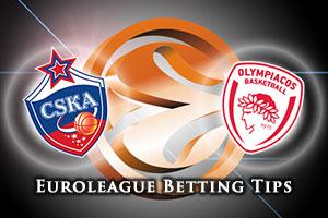 CSKA Moscow v Olympiacos Piraeus Betting Tips