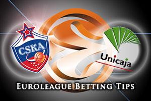 CSKA Moscow v Unicaja Malaga Betting Tips