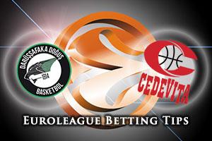 Darussafaka Dogus Istanbul v Cedevita Zagreb Betting Tips