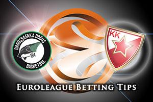 Darussafaka Dogus Istanbul v Crvena Zvezda Telekom Belgrade Betting Tips