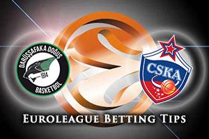Darussafaka Dogus Istanbul v CSKA Moscow Betting Tips