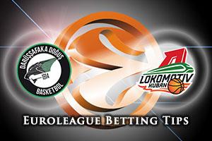 Darussafaka Dogus Istanbul v Lokomotiv Kuban Krasnodar Betting Tips