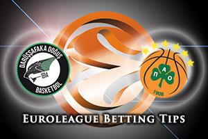 Darussafaka Dogus Istanbul v Panathinaikos Athens Betting Tips