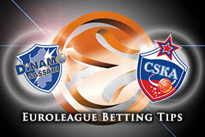 Dinamo Banco di Sardegna Sassari v CSKA Moscow Betting Tips