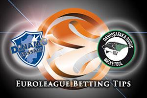 Dinamo Banco di Sardegna Sassari v Darussafaka Dogus Istanbul Betting Tips
