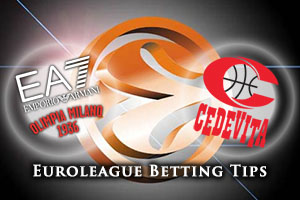 EA7 Emporio Armani Milan v Cedevita Zagreb Betting Tips