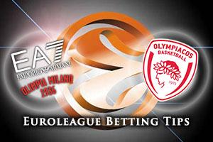 EA7 Emporio Armani Milan v Olympiacos Piraeus Betting Tips