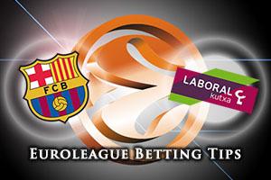 FC Barcelona Lassa v Laboral Kutxa Vitoria Gasteiz Betting Tips