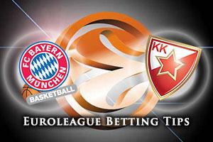 FC Bayern Munich v Crvena Zvezda Telekom Belgrade Betting Tips