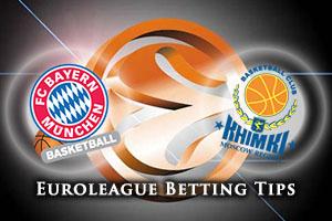FC Bayern Munich v Khimki Moscow Region Betting Tips