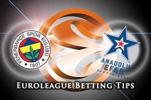 Fenerbahce Istanbul v Anadolu Efes Istanbul Betting Tips