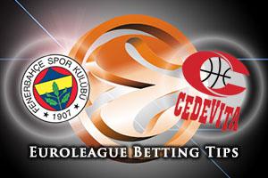 Fenerbahce Istanbul v Cedevita Zagreb Betting Tips