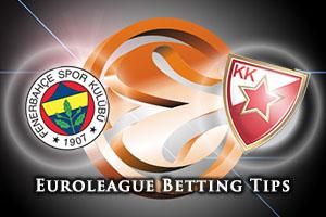Fenerbahce Istanbul v Crvena Zvezda Telekom Belgrade Betting Tips