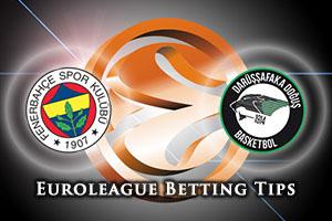Fenerbahce Istanbul v Darussafaka Dogus Istanbul Betting Tips