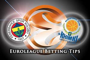 Fenerbahce Istanbul v Khimki Moscow Region Betting Tips