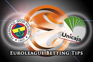 Fenerbahce Istanbul v Unicaja Malaga Betting Tips