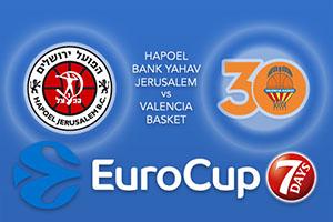 Hapoel Bank Yahav Jerusalem v Valencia Basket