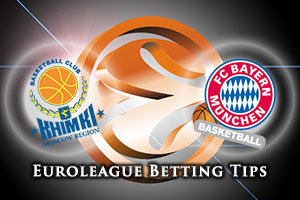 Khimki Moscow Region v FC Bayern Munich Betting Tips