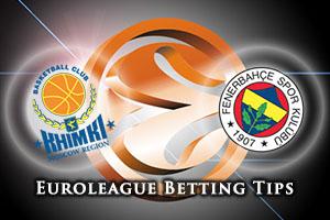 Khimki Moscow Region v Fenerbahce Istanbul Betting Tips
