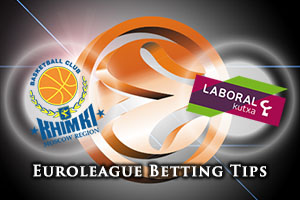Khimki Moscow Region v Laboral Kutxa Vitoria Gasteiz Betting Tips