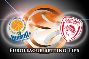 Khimki Moscow Region v Olympiacos Piraeus Betting Tips