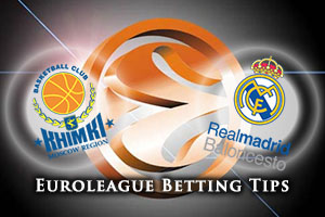 Khimki Moscow Region v Real Madrid Betting Tips