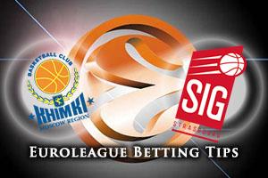 Khimki Moscow Region v Strasbourg Betting Tips