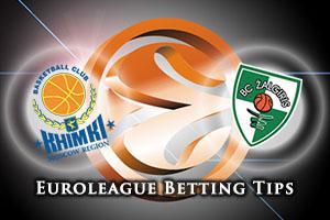 Khimki Moscow Region v Zalgiris Kaunas Betting Tips