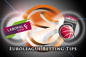 Laboral Kutxa Vitoria Gasteiz v Brose Baskets Bamberg Betting Tips