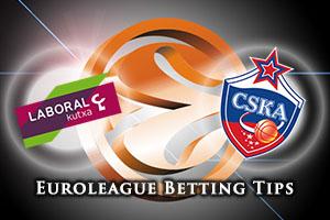 Laboral Kutxa Vitoria Gasteiz v CSKA Moscow Betting Tips