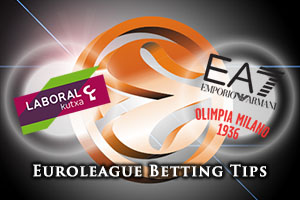 Laboral Kutxa Vitoria Gasteiz v EA7 Emporio Armani Milan Betting Tips