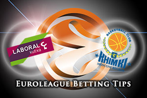 Laboral Kutxa Vitoria Gasteiz v Khimki Moscow Region Betting Tips