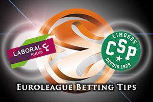 Laboral Kutxa Vitoria Gasteiz v Limoges CSP Betting Tips