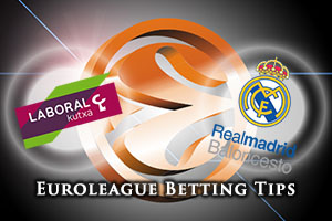 Laboral Kutxa Vitoria Gasteiz v Real Madrid Betting Tips