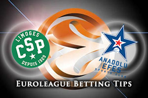 Limoges CSP v Anadolu Efes Istanbul Betting Tips