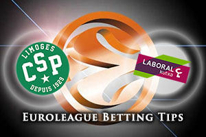 Limoges CSP v Laboral Kutxa Vitoria Gasteiz Betting Tips