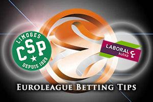 Limoges CSP v Laboral Kutxa Vitoria Gasteiz Betting Tips