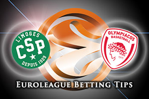 Limoges CSP v Olympiacos Piraeus Betting Tips