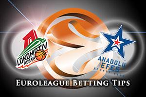 Lokomotiv Kuban Krasnodar v Anadolu Efes Istanbul Betting Tips
