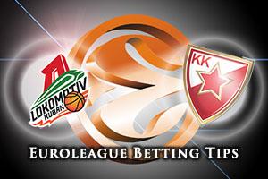 Lokomotiv Kuban Krasnodar v Crvena Zvezda Telekom Belgrade Betting Tips