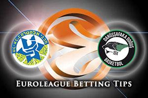 Maccabi FOX Tel Aviv v Darussafaka Dogus Istanbul Betting Tips