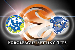 Maccabi FOX Tel Aviv v Dinamo Banco di Sardegna Sassari Betting Tips