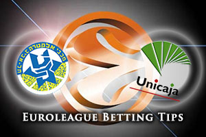 Maccabi FOX Tel Aviv v Unicaja Malaga Betting Tips