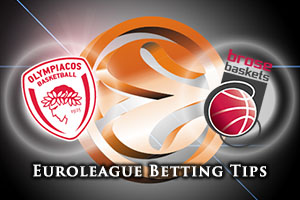 Olympiacos Piraeus v Brose Baskets Bamberg Betting Tips