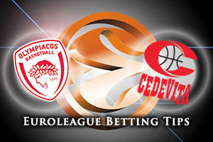 Olympiacos Piraeus v Cedevita Zagreb Betting Tips