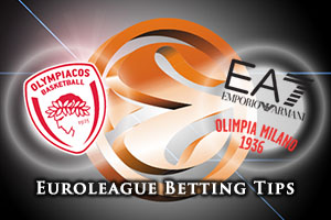 Olympiacos Piraeus v EA7 Emporio Armani Milan Betting Tips