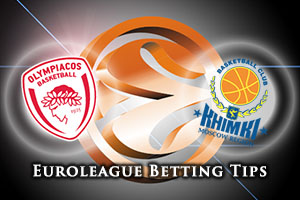 Olympiacos Piraeus v Khimki Moscow Region Betting Tips