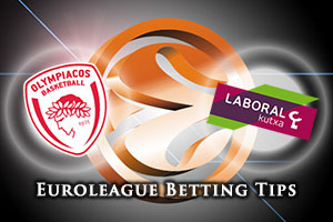 Olympiacos Piraeus v Laboral Kutxa Vitoria Gasteiz Betting Tips