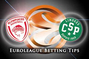 Olympiacos Piraeus v Limoges CSP Betting Tips